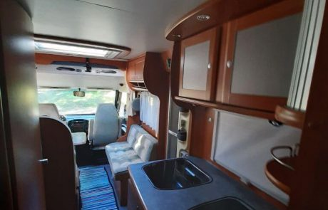 Autocaravana interior