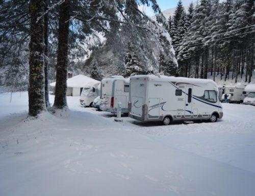 Alquiler de autocaravana en invierno